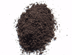 small pile of soil