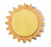 paper cut out sun