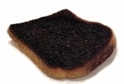 burned toast