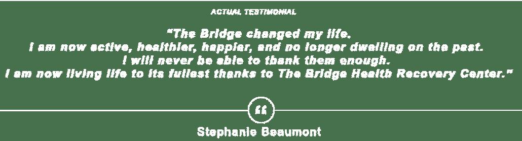 stephanie testimonial