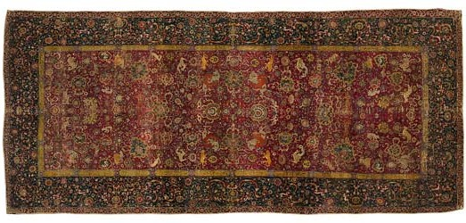 safavid rug