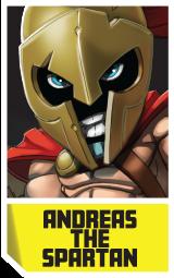 andreas the spartan