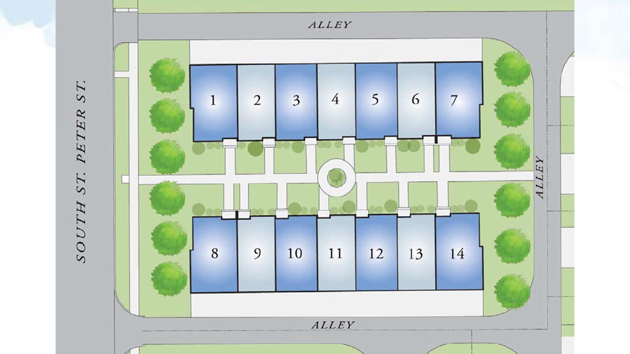 Village at Riverwalk Site Plan