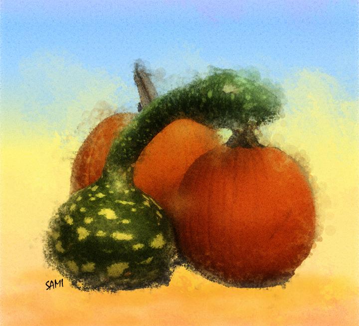 Pumpkins & Golden Doodles