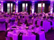 uplighting, wedding reception, ft myers, fl