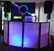 video wedding dj booth