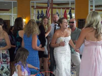 wedding reception, Charlotte Harbor Yacht Club, Port Charlotte, Florida