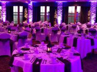 uplighting, wedding reception, ft myers, fl