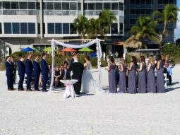 beach wedding, Ft Myers FL