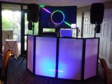music video, dj booth, slide shows, weddings,proms