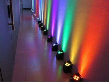 uplighting, up lighting, color wall wash