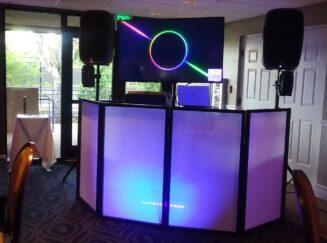 music video, dj booth, slide shows, weddings,proms