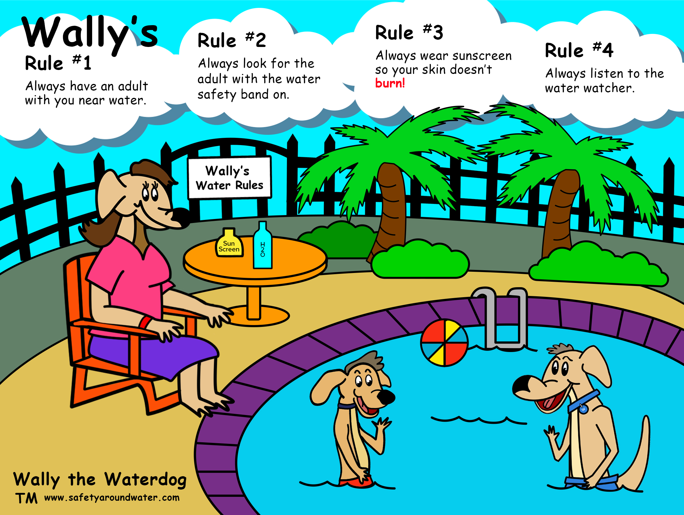 Wally the waterdog puzzle