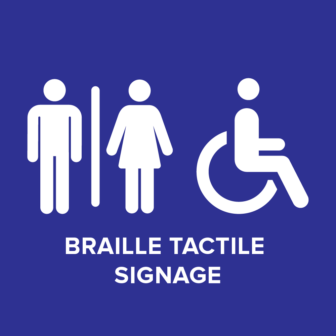 Accessible Braille Tactile Signage (AS 1428.1-2009)