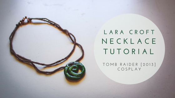 How I made my Tomb Raider 2013 Lara Croft necklace.