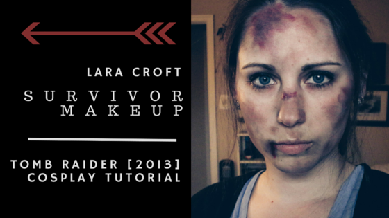 Lara Croft Survivor Makeup | Tomb Raider 2013 Cosplay Tutorial