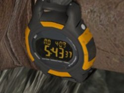 Lara Croft's watch from Tomb Raider 2013.