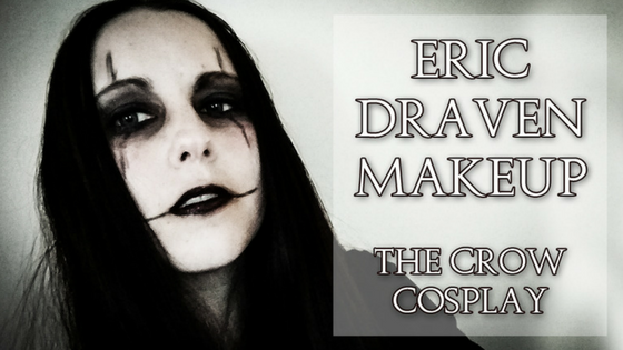 Eric Draven Makeup | The Crow Cosplay Tutorial