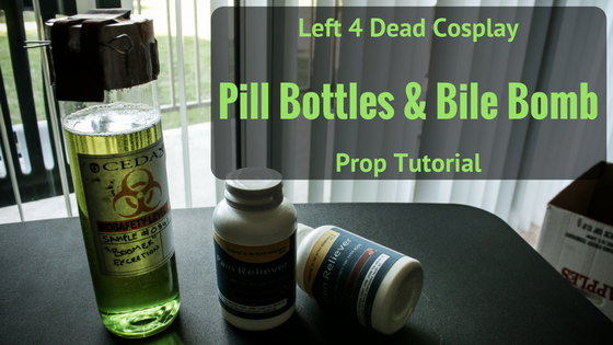 Pills & Bile Bomb Props | Left 4 Dead Cosplay Tutorial