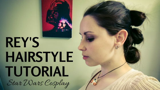 Rey's Hairstyle | Star Wars Cosplay Tutorial