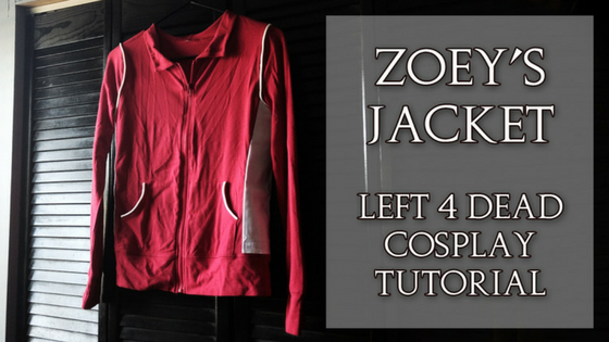 Zoey's Jacket | Left 4 Dead Cosplay Tutorial