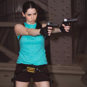 Lara Croft Cosplay from Tomb Raider Anniversary