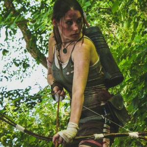 Lara Croft Cosplay from Tomb Raider (2013)