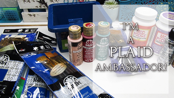 I'm now a Plaid Ambassador!