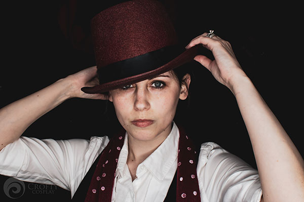 My genderbent cosplay of Phillip Carlyle from The Greatest Showman.