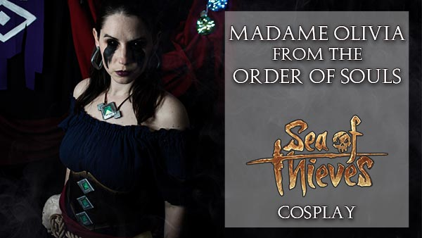Madame Olivia Cosplay from Sea of Thieves