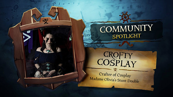 Sea of Thieves Community Spotlight: Crofty Cosplay