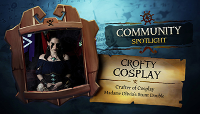 Crofty Cosplay's Sea of Thieves Community Spotlight
