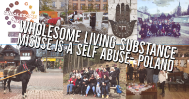 "Erasmus+ Activity | ""Wholesome Living Substance Misuse Is A Self Abuse"" – Poland Nov 2019"