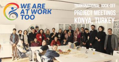 "Erasmus+ Activity | ""We Are At Work Too"" – Konya, Turkey Jan 2020"