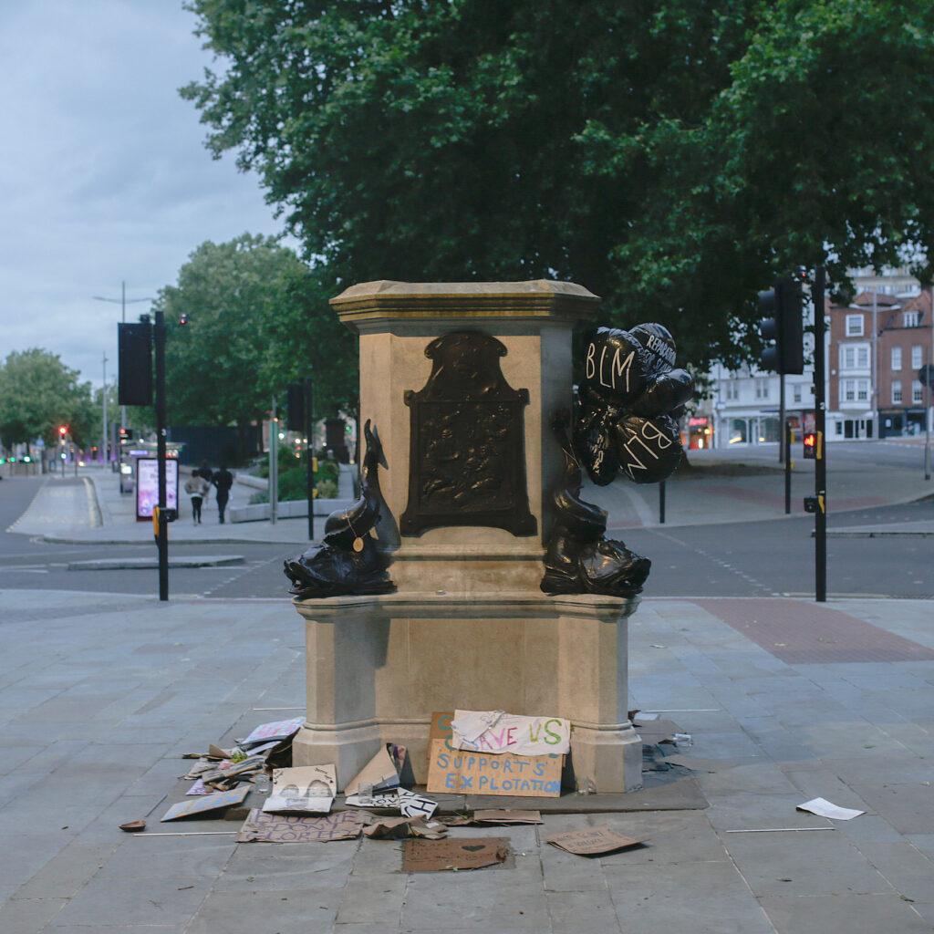 colston empty plinth