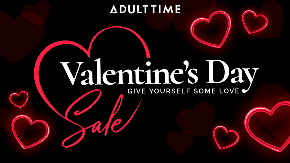 Adult Time Treats Fans to Valentine's Day Promotion, February 12-17
