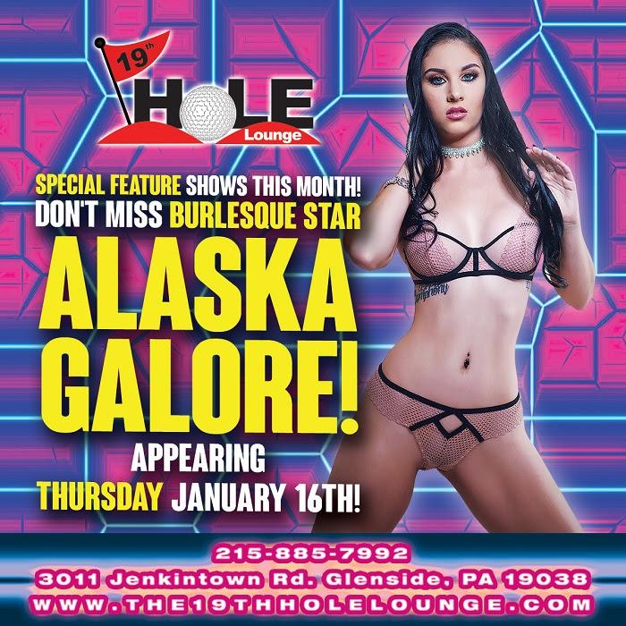 Alaska Galore Performs Live & Headlines at The 19th Hole Lounge, Cloud Nine Show Bar & The Fox Gentlemen's Club