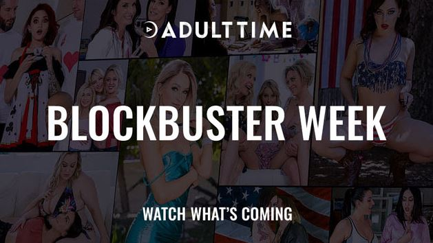 Adult Time Kicks Off a Blockbuster Week with Debuts, Finales and FREE STREAMING