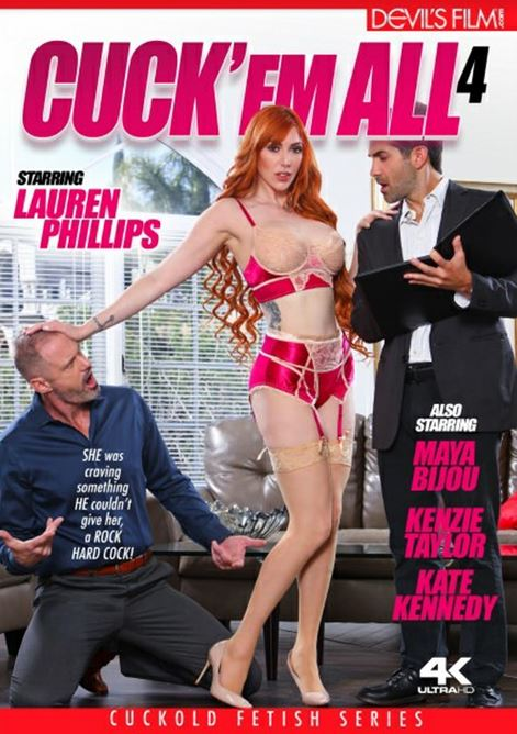 Lauren Phillips Lights Up Cover of 'Cuck 'Em All 4'