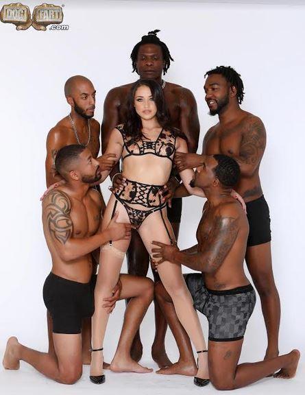 Dogfart Unleashes Black Cock Gangbang Featuring Avi Love