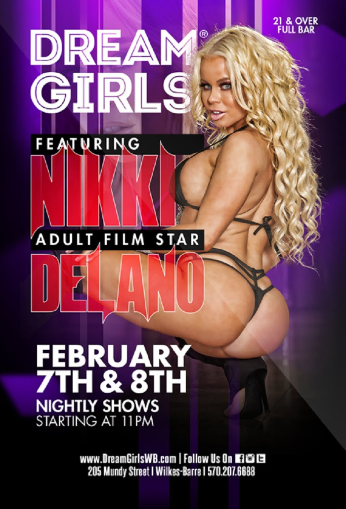 Feature Dancers, Headliners, & XXX Porn Stars Performing in the East Presented by Centerfold Features