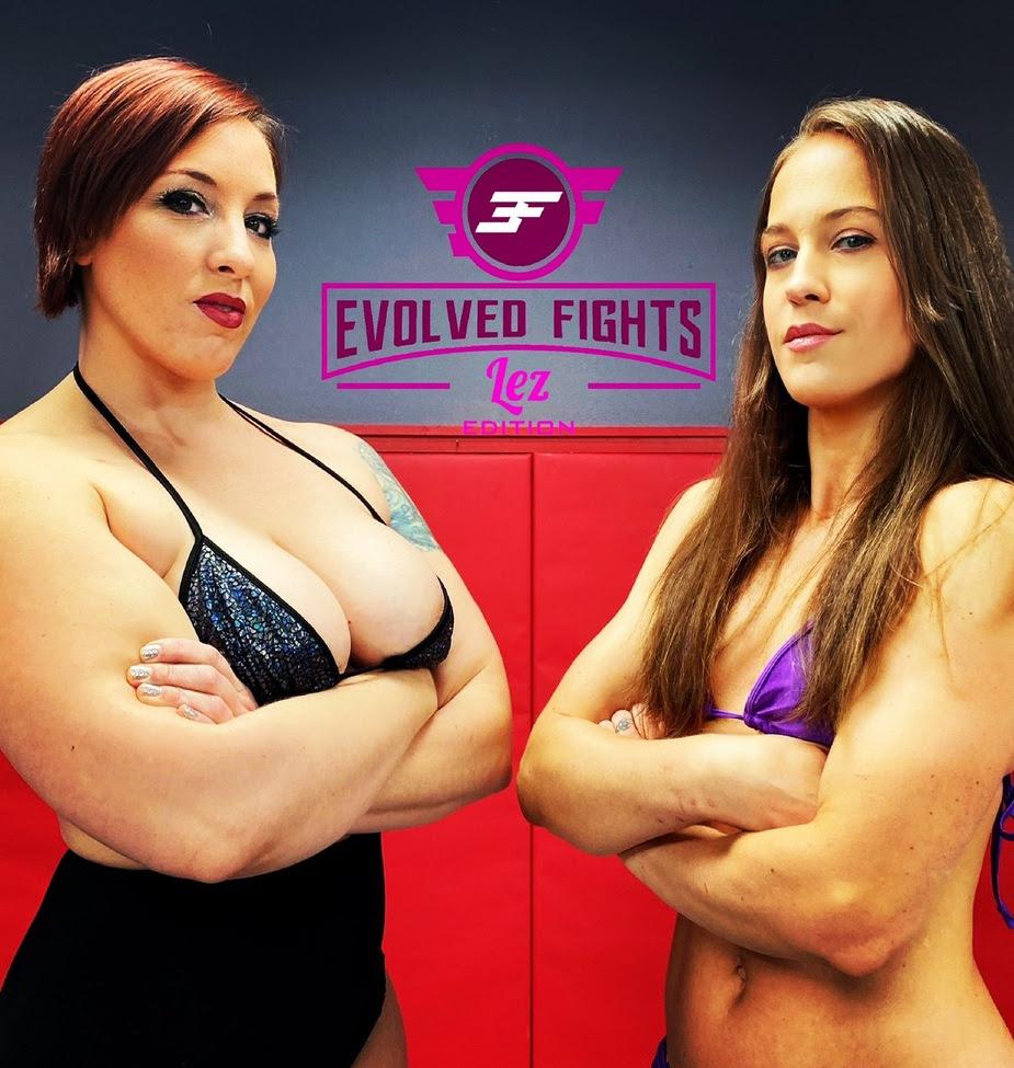 Evolved Fights Lez Wraps 'Fall Brawl' Sex Fight Championship Wrestling Tournament