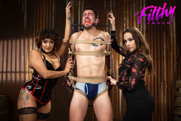 """Filthy Femdom Releases """"Shakedown"""" with Daisy Ducati, Chanel Preston, and Dante Colle"""