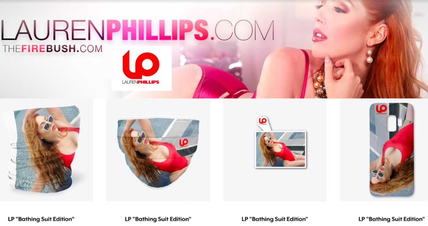 Lauren Phillips Launches New Online LP Merch Store