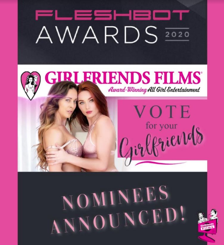 Girlfriends Films Nominated for the 2020 Fleshbot Awards