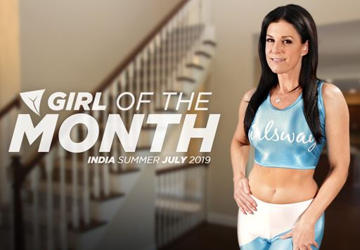 India Summer Reigns as Girlsway's Girl of the Month for July 2019