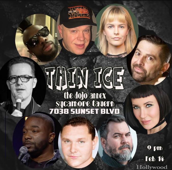 Comedian & Sex Worker Hung Yung Terrarist to Appear on The Christy Canyon Show Today Promoting Valentine' Day Show, Thin Ice