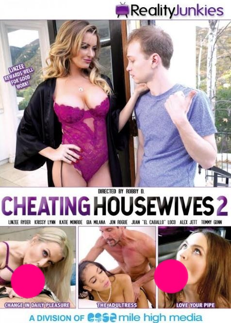 Linzee Ryder Featured on the Cover of 'Cheating Housewives 2'