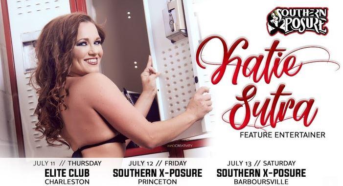 Katie Sutra Headlines at Southern Exposure Gentlemen's Clubs