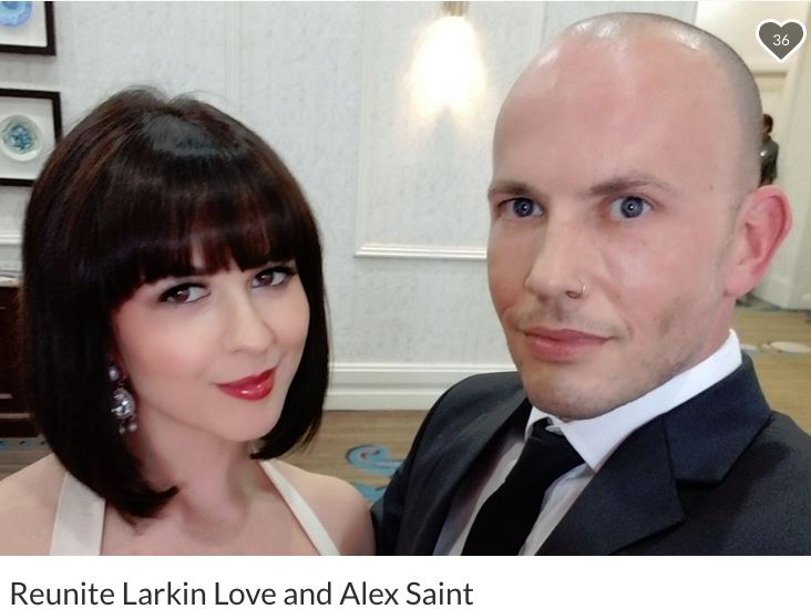 Update: Alex Saint & Larkin Love Start GoFundMe to Reunite & for Moving Expenses